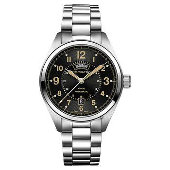 Hamilton 漢米爾頓 Khaki Field卡其野戰80小時動力儲存機械錶 H70505933