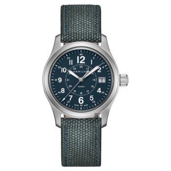 Hamilton 漢米爾頓 Khaki Field卡其野戰手錶 藍 38mm H68201943