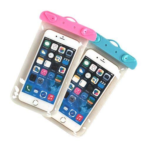 手機防水袋/保護套/可觸控 通用5.5吋以下手機 -兩色