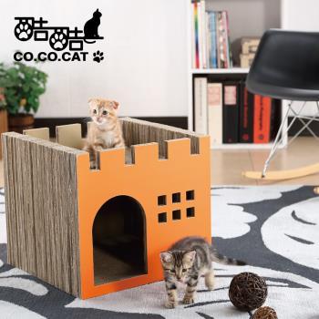 ★酷酷貓 Co.Co.Cat★豪華城堡-100%台灣製紙箱貓抓板