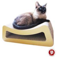 Box Meow 瓦楞貓抓板-小躺椅 (CS012)