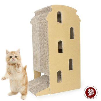 Box Meow 瓦楞貓抓板-比薩斜塔 (CS033)