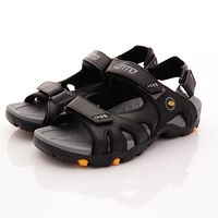 Lotto樂得-探險家戶外涼鞋款-MS5200黑(男款)