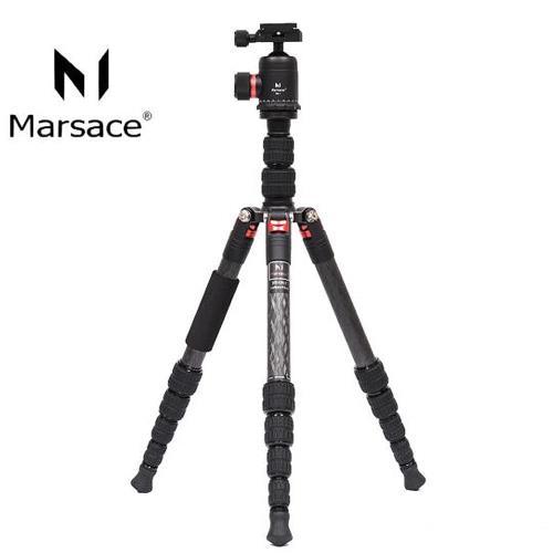 Marsace 瑪瑟士 DT-1551T 1號腳 5節 碳纖維 三腳架 含DB-1 雲台(公司貨)DT1551T
