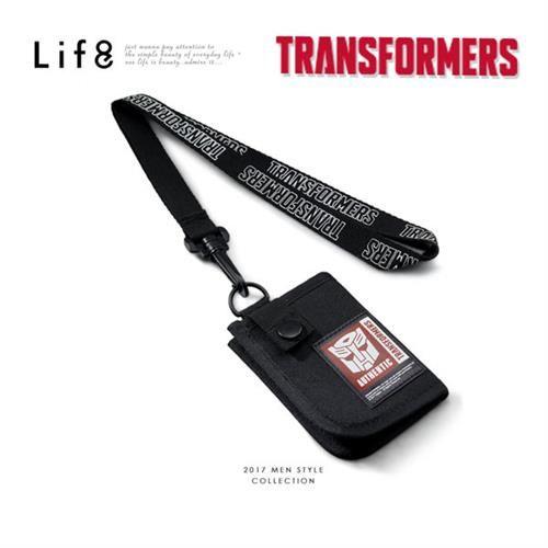 Life8-變形金剛。掛頸多功能包-06399-黑