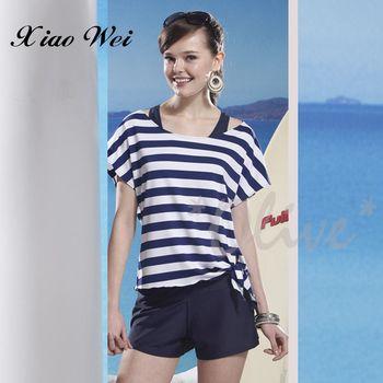 泳之美 亮麗甜美時尚三件式比基尼泳裝 NO.28858