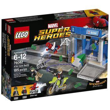 【LEGO 樂高積木】SUPER HEROES 超級英雄蜘蛛人返校日 - ATM Heist Battle LT-76082