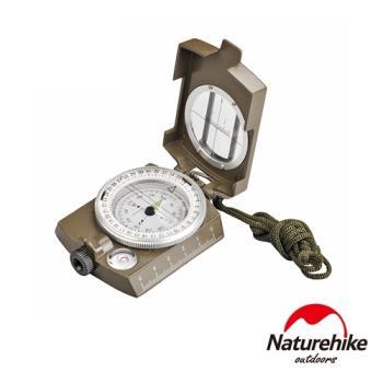 Naturehike 軍用防水夜光指南針 指北針 地質羅盤儀
