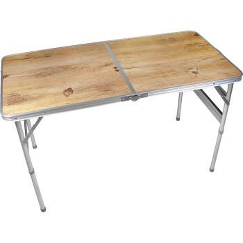 BROTHER兄弟牌攜帶式折疊鋁桌90x60cm