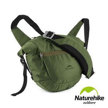 Naturehike 8L城市休閒戶外旅行斜背包 單肩包 通勤包 軍綠