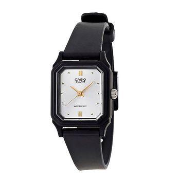 【CASIO】 輕便巧小運動指針錶-白面x黑 (LQ-142E-7A)