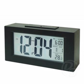 LCD液晶萬年曆貪睡電子鐘 813