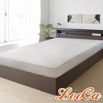 LooCa 杜邦旗艦級防水透氣床包式保潔墊(加大)