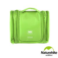 Naturehike 多夾層大容量旅行掀蓋式盥洗包 化妝包 綠色