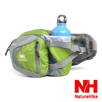 Naturehike 戶外多功能隨身運動腰包 騎行包 綠色