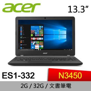 Acer宏碁 小筆電 ES1-332-C4E5  13.3/N3450/2G/eMMC 32G