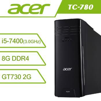 Acer 宏碁Acer TC-780 7代i5四核心飆速獨顯Win10電腦TC-780-001