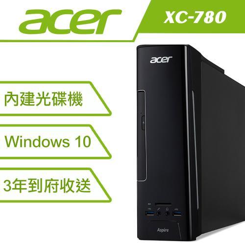 結帳享好禮再送1000元折扣金Acer 6代i3雙核 Win10 桌上型電腦