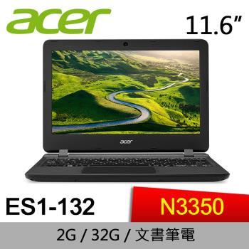 ACER 文書筆電 ES1-132-C30B  11.6吋超可攜Windows 10筆電