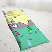 HO KANG 100%純棉兒童睡袋 鋪棉涼被兩用 加大款4.5X5尺~多款式任選