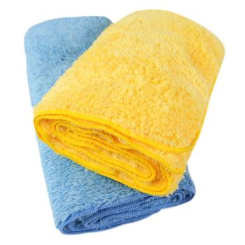 Yenzch 微絲開纖運動毛巾(二色可選 2入 25x105cm) RM-11002