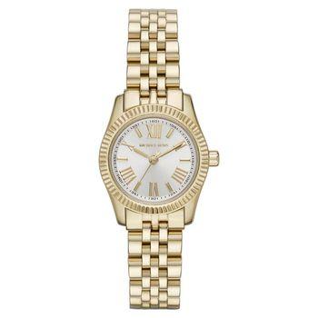 Michael Kors 羅馬時尚腕錶 銀x金 26mm MK3229