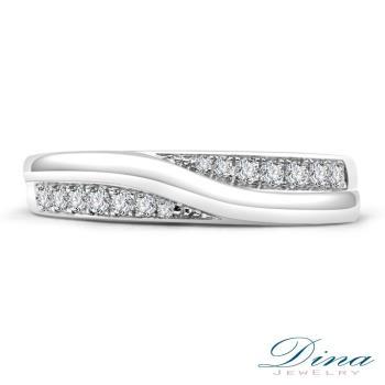 DINA JEWELRY 蒂娜珠寶  依偎鑽石對戒-女戒_預購