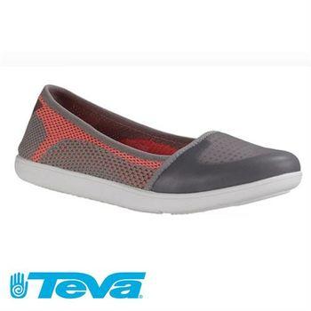 【TEVA】2017 輕量簡約設計運動休閒娃娃鞋款 女(TV1018310GREY)
