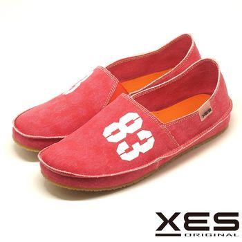 XES 經典帆布鞋進化版 83懶人鞋情侶款(女) 柔軟度up舒適上市_紅色