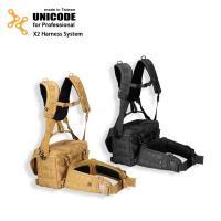 UNICODE X2 Harness System 通用雙肩腰封負重系統-經典黑