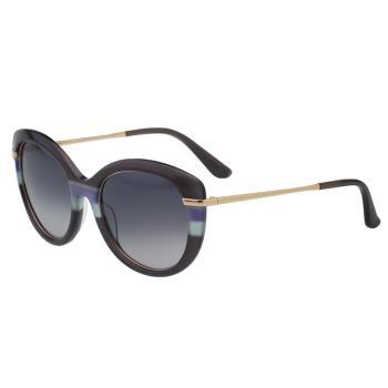 Salvatore Ferragamo- 時尚優雅太陽眼鏡(灰紫色)SF724S