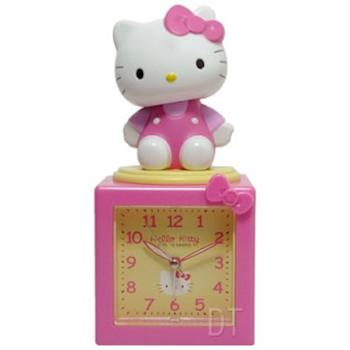 Hello Kitty搖擺公仔超靜音貪睡鬧鐘 JM-E500KT