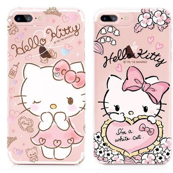 GARMMA Hello Kitty iPhone 7 Plus 5.5吋 硬式保護殼