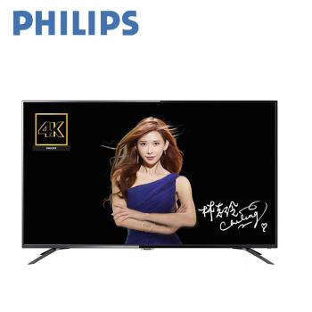 PHILIPS飛利浦 65吋 4K UHD超纖薄聯網智慧顯示器+視訊盒65PUH6082