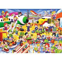 54片兒童地板拼圖/歡樂航空站