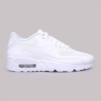 NIKE 女運動休閒鞋  AIR MAX 90 ULTRA 2.0-GS 白