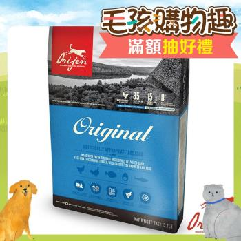 【Orijen】渴望 成犬 野牧鮮雞+鮮魚配方 犬糧 1公斤 X 1包