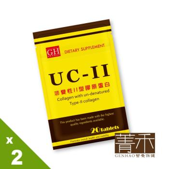 【GENHAO菁禾】非變性Ⅱ型膠原蛋白 2袋(20粒/袋)