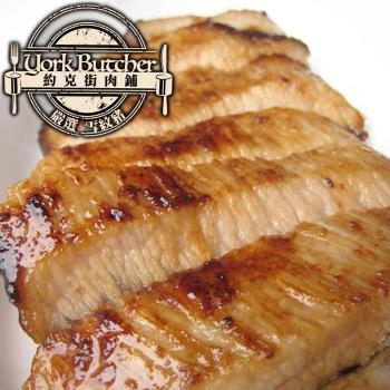 【約克街肉鋪】台灣雪紋豬肉1.2公斤(1200g/3~5片)