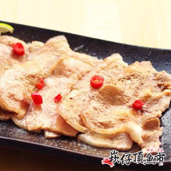【崁仔頂魚市】台灣豬五花烤肉片3份組(500g/份)