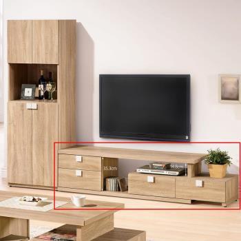 【H & D】多莉絲4.8~7.4尺伸縮電視櫃