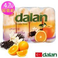 土耳其dalan - 甜橙香草柔嫩保濕皂90g X4 超值組