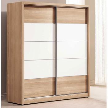 【H & D】金詩涵5.2尺推門衣櫃