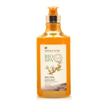 以色列第一品牌 Sea of Spa 死海胡蘿蔔沙棘油纖活沐浴乳-黃色瓶