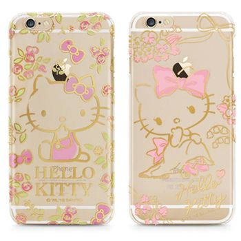 GARMMA Hello Kitty iPhone 6/6S Plus 5.5吋 -燙金保護殼