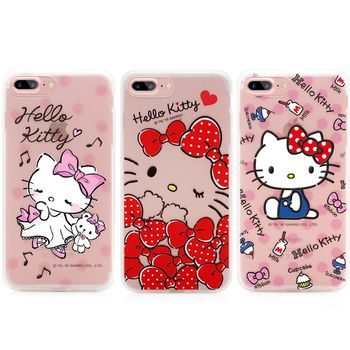 GARMMA Hello Kitty iPhone 7 Plus 5.5吋 -軟式霧面保護殼