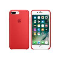 Apple 原廠 iPhone7 Plus case 適用 矽膠保護殼 (紅色-盒裝)