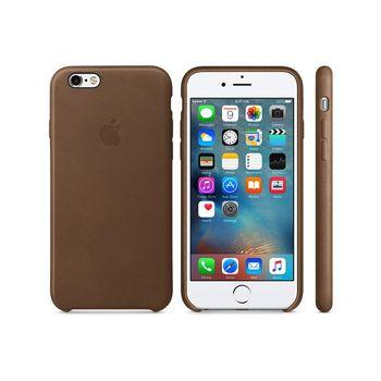 Apple 原廠 iPhone6 / 6S case 適用 皮革保護套(棕色-盒裝)