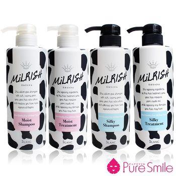 【5LANC】牛奶絲柔洗髮乳/潤髮乳任選2入