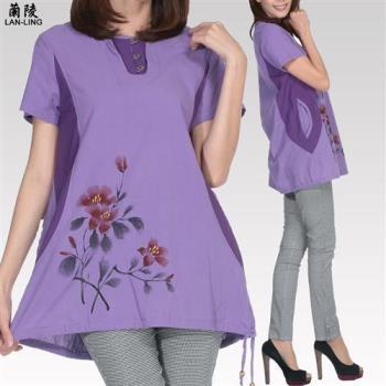 水衫專櫃款舒適有型純棉上衣組3入